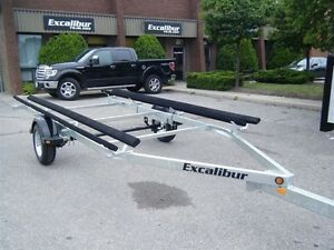 2017 Excalibur Pontoon Boat Trailer - 1700lb capacity up to 19..