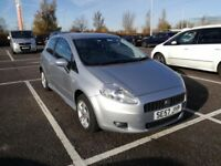 FIAT GRANDE PUNTO. IMMACULATE. SERVICED INCLUDING NEW CAMBELT/WATER PUMP CHANGED 12 MONTHS MOT