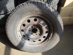 275/65R18 COOPERDISCOVER M+S FORD F150 WINTER RIMS AND TIRES
