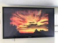 55inch flat screen SAMSUNG television