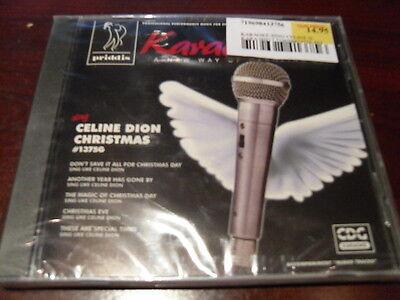 PRIDDIS KARAOKE DISC 1375G CELINE DION CHRISTMAS CD+G XMAS (last 1) Celine Dion Karaoke Disc