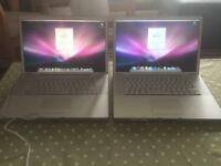 MacBook Pro A1211 and A1226