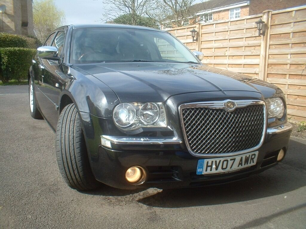 Chrysler 300c diesel auto 2007 black 3 litre turbo for Chrysler 300c diesel