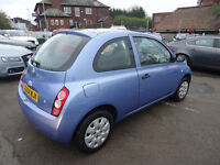 54 plate nissan micra 1.2 petrol only 45k mileage hpi clear very clean car mot 09,02,2018