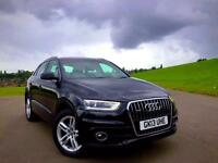 Audi Q3 SLine Quattro 2.0 2013 Manual Diesel Navigation