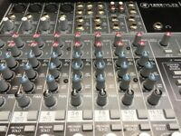 Mackie 1202 VLZ3 Mixer, Mixing Desk, EQ, FX, sends, 12 channel, Plus with Flightcase