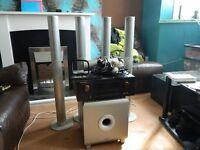 Surround sound system, marantz equilizer