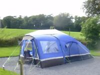 4 man tent with added porch