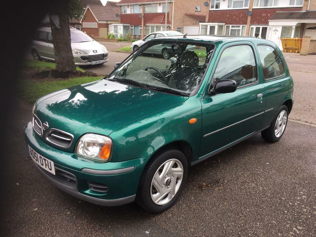 nissan micra 2002 51 reg in leicester leicestershire. Black Bedroom Furniture Sets. Home Design Ideas