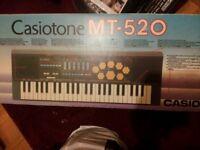 Casio Casiotone mt-520 electronic keyboard drum