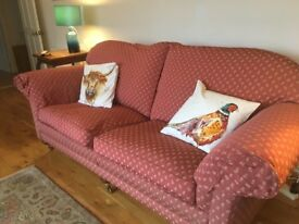 FREE LARGE 3 SEATER SOFA. IMMACULATE, v COMFORTABLE. SPACE NEEDED.