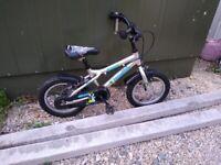 """Dawes Blowfish Kids Bike - 14"""" Wheels - Aluminium Frame"""