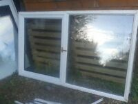 UPVC WHITE PLASTIC DOUBLE GLAZED GLAZING WINDOWS IN GWO FOR SHED/ GARAGE+ VARIOUS GLASS SEALED UNITS
