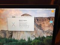 Apple MacBook Pro 15 2.2i7 4gb no hard-drive