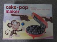 Cake pop maker. Electric cake maker that produces lolly-shaped cakes