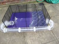 Hamster cage, big, good condition