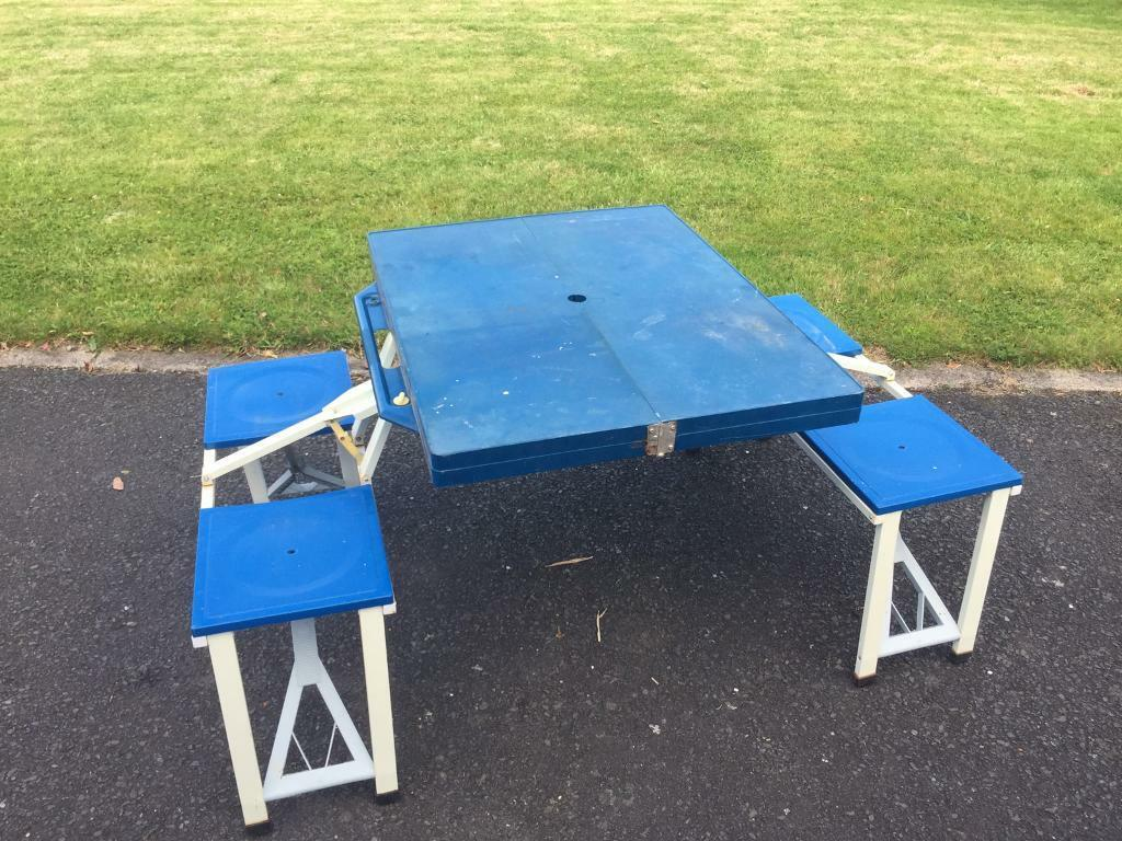 Fold Down Picnic Bench