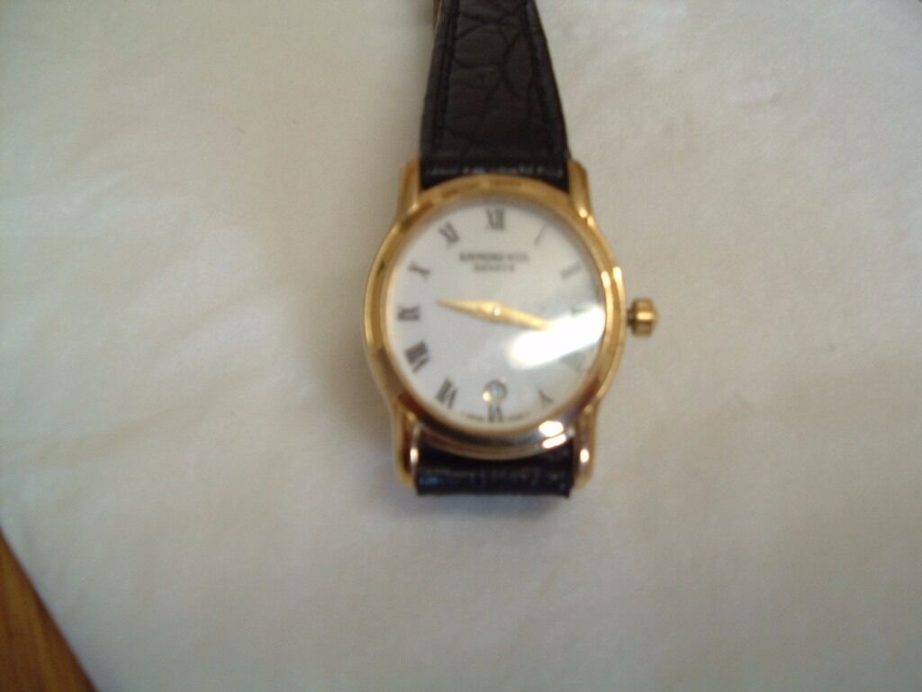 RAYMOND WEIL 5371 LADIES 18K GOLD PLATED WATCH WITH NEW  : 86 from www.gumtree.com size 1024 x 768 jpeg 42kB