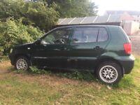 VW Polo SPARES/REPAIRS *see description*