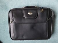 Good quality Antler leather laptop case