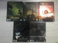 25 mixed steelbook /blu ray/ dvd movies for sale  London