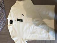 Fred Perry - Raf Simons white jumper- brand new
