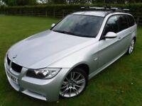 *SPARES OR REPAIR *2007 BMW 320i TOURING M SPORT 93700miles