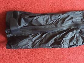 Women's mountain equipment waterproof trousers. XS