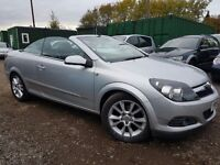 Vauxhall Astra 1.8 i Design Twin Top 2dr, 1 YEAR MOT,GENUINE LOW MILEAGE, HPI CLEAR, 1 FORMER KEEPER