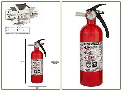Kidde 5 Bc Fire Extinguisher Home Car Truck Dry Chemical Auto Garage Kitchen