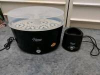 Tommee tippee bottle warmer and sterlizer