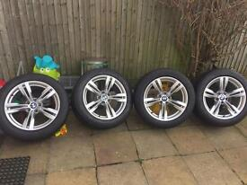 """Genuine BMW X5 F15 E70 19"""" 467 Style Alloy Wheels and Tyres"""