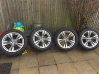 "Genuine BMW X5 F15 E70 19"" 467 Style Alloy Wheels and Tyres"