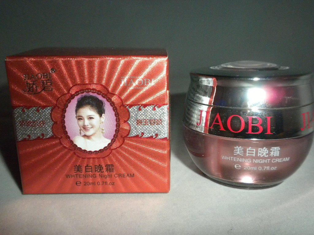 NIB JIAOBI BEAUTY WHITENING SKIN CARE NIGHT CREAM