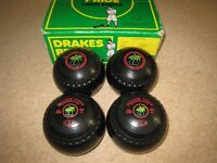 Set of Drakes Pride Professional Bowls, Size 1 Heavy