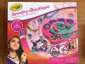 Crayola Jewellery Boutique Craft Toy *NEW*