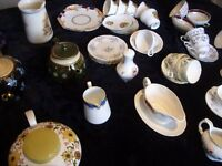 Huge Joblot of Vintage China ~ Cups/saucers/plates/teapots/others