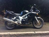 Suzuki sv650 full mot nationwide delivery