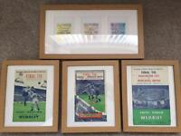 Collection of Newcastle United FA Cup winning programs 1951, 1952 and 1955