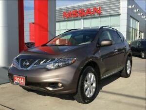 2014 Nissan Murano SL AWD, Leather, Bluetooth, Dual Roof
