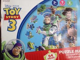 Toy story 3 puzzle
