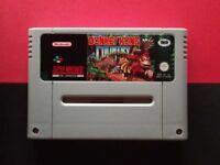 Donkey Kong Country SNES Super Nintendo Super NES Retro Game Vintage GAMEPO