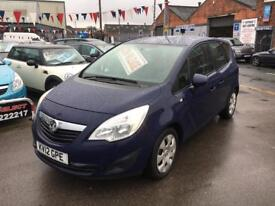 Vauxhall Meriva 1.4 Exclusiv *** ONLY 54,000 MILES *** 12 MONTHS WARRANTY! ***