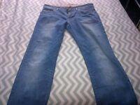 Men's Jeans Size W34 L32