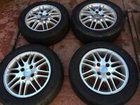 Ford Focus 2001 onward alloy wheels .