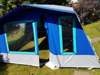 4-6 man canvas frame tent