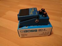 Boss BD-2 Blues Driver Guitar Pedal - Great condition!