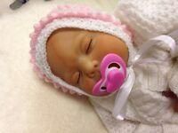 "Reborn Baby Doll "" Lizzy "" Realistic Newborn Lifelike"