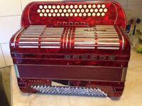 1970's model Shand Morino accordion for sale – Excellent Condition