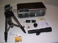 Spotting Scope, Vanguard VSR with tripod and case (New unwanted present)